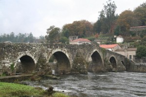 vista xeral da Ponte maceira